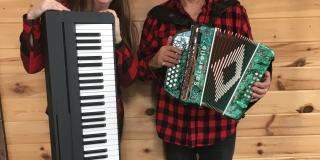 Laurencio Beaudin et Claire Ouellet