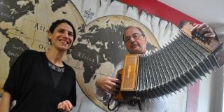 Duo Perroches-Lemoine: Yann-Fañch Perroches et Joanna Lemoine
